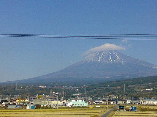 富士山は雪!!