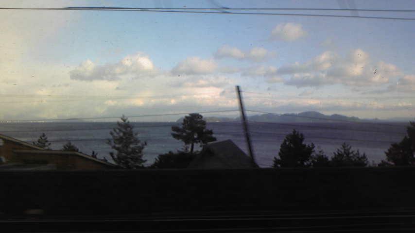 ただ今琵琶湖
