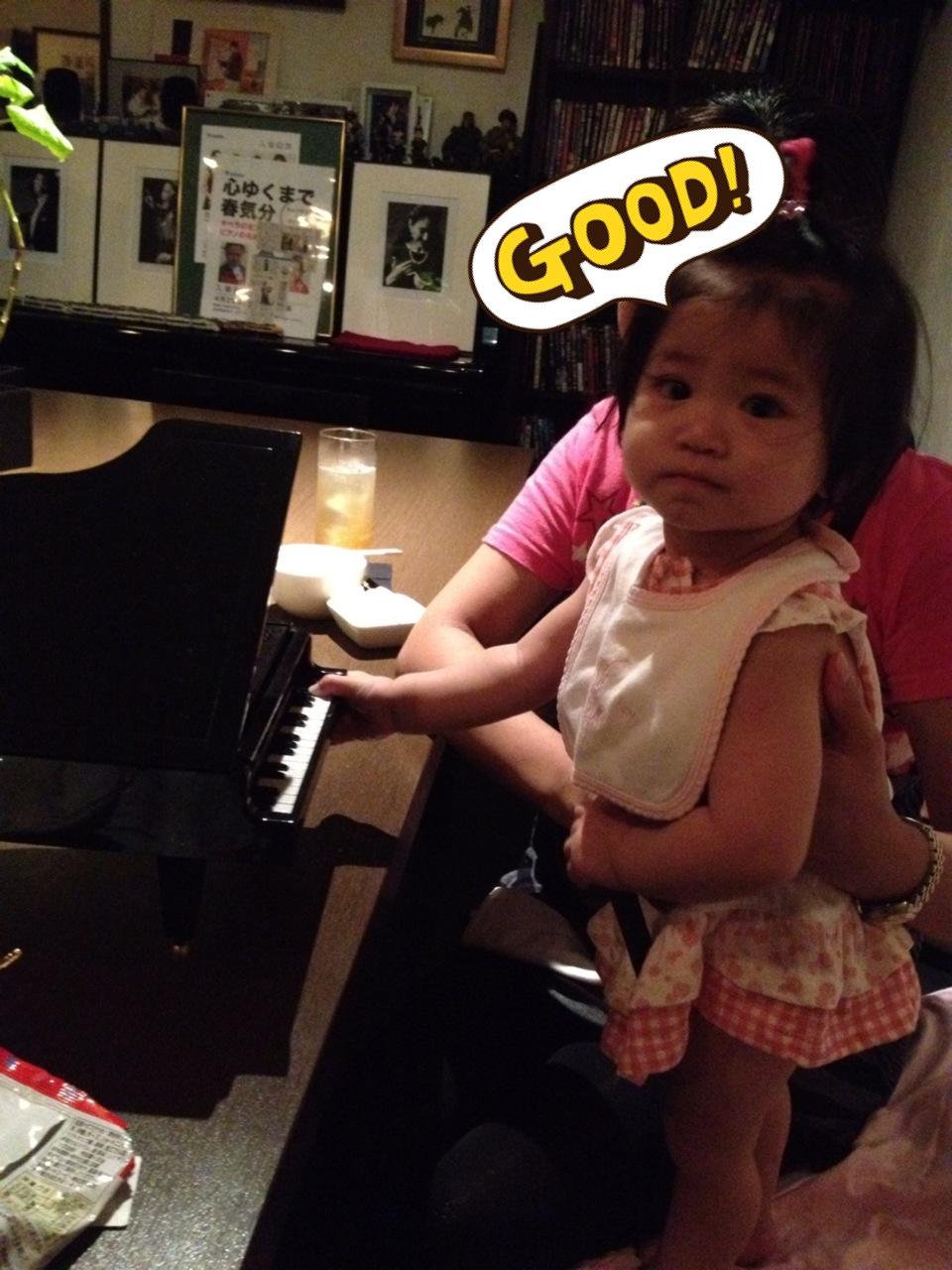 将来のピアニスト⁉