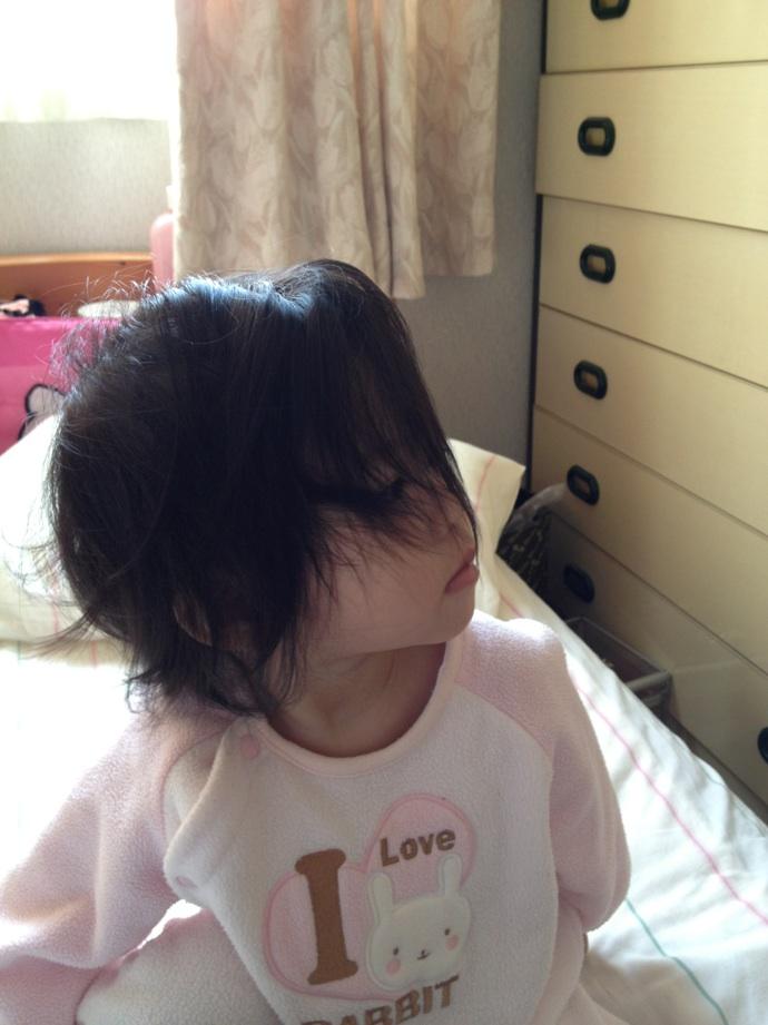 髪の毛なが〜い!