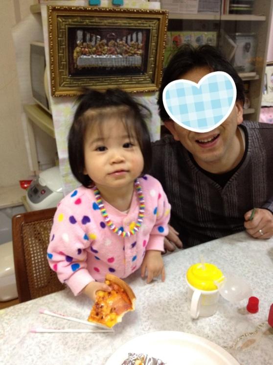佑里夏、1歳3ヶ月
