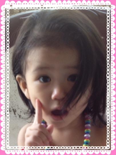 佑里夏、1歳6ヶ月