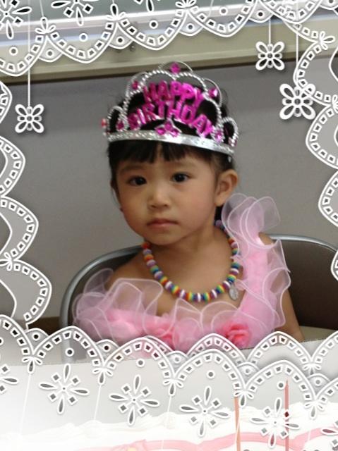 佑里夏、満2歳になりました!